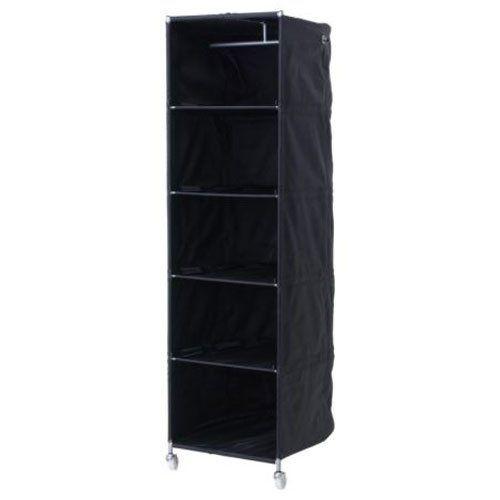 Ikea Black Clothes Organizer Wardrobe Compact On Wheels Ikea Ps Clothes Organization Ikea