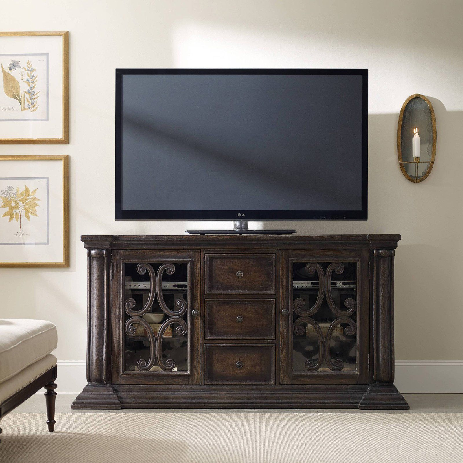 Hooker Furniture DaValle Entertainment Console The Hooker