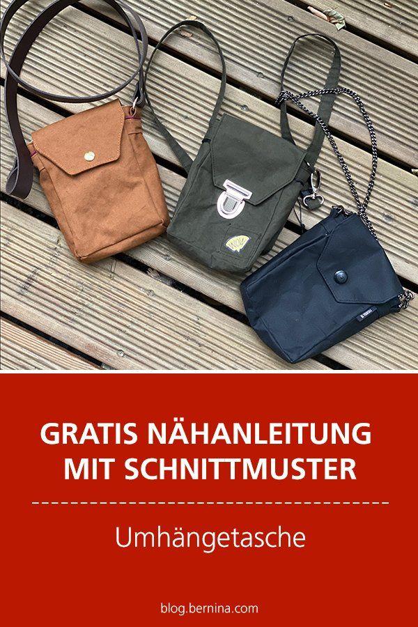 Photo of Kostenlose Anleitung mit Schnittmuster Freebie: Umhängetasche nähen