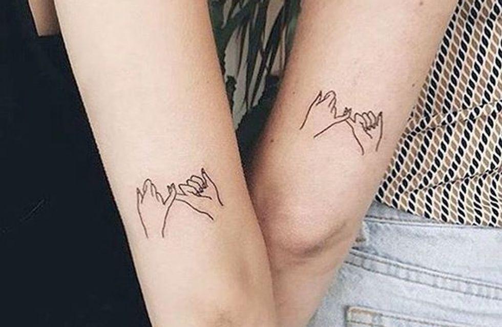 Photo of Tatuajes para amigas: 30 diseños con los que llevar vuestra amistad en la piel