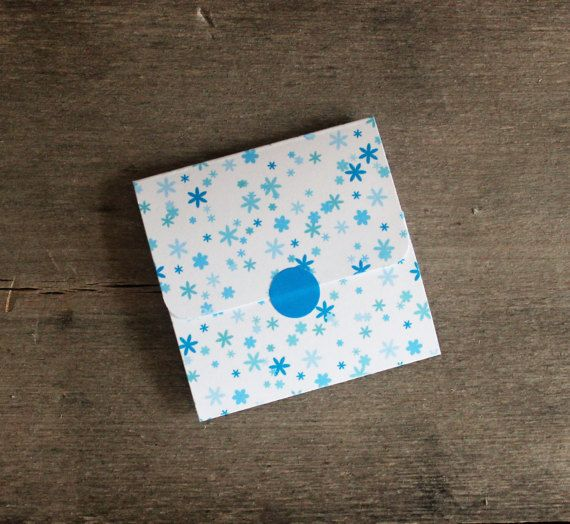 Mini Notes - White Note Cards - Envelope Style - 2 1/2 x 2 1/2