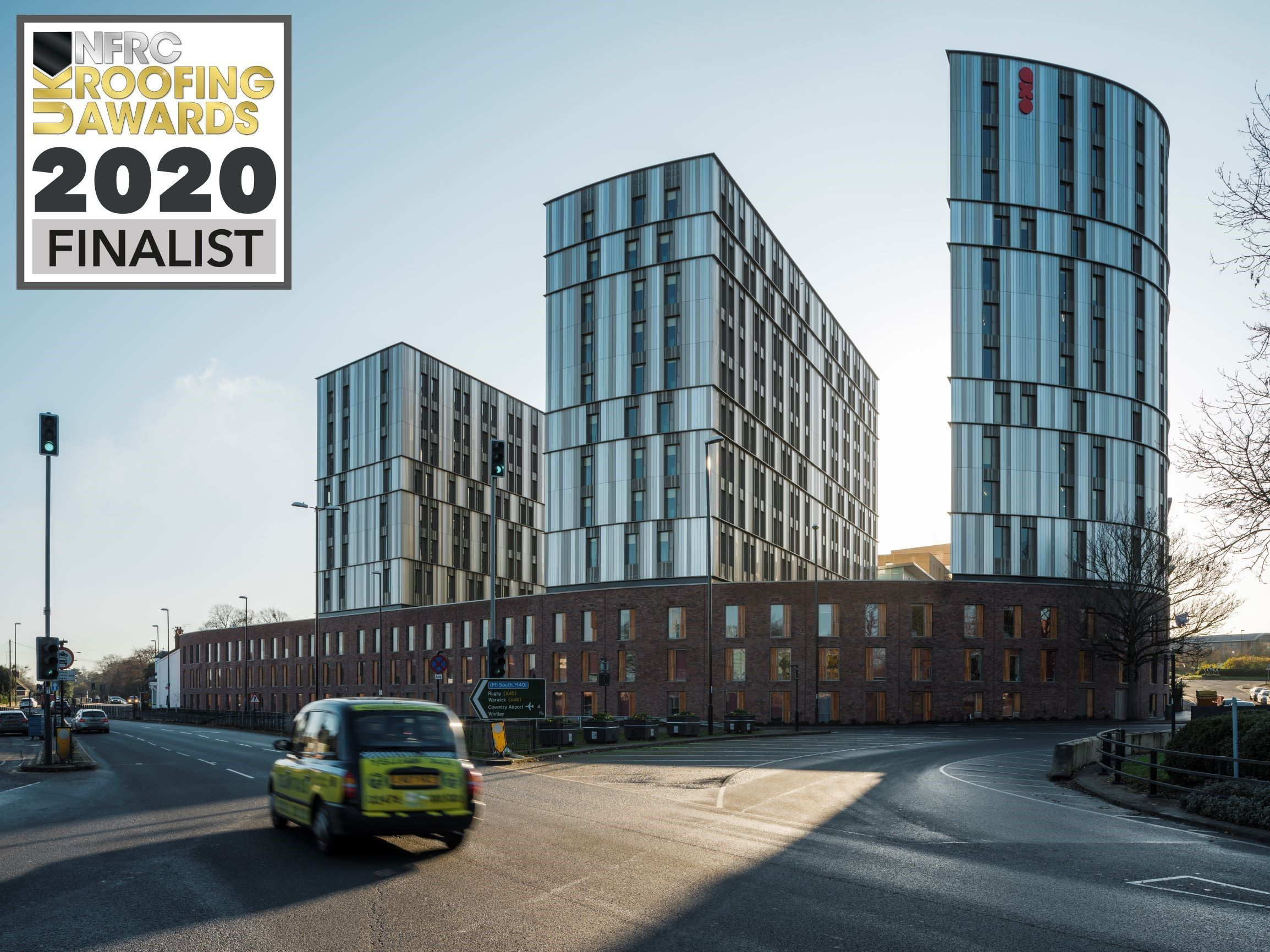A great end to the week with a focus on our project at Paradise Street in Coventry.  Shortlisted in the Rainscreen category at the NFRC UK Roofing Awards 2020!  Thanks to our supply chain and every member of the team who was involved to deliver such an amazing development.  #roofingawards2020 #RA2020 #ukroofingawards #teamlongworth #coventry #studentaccommodation #newbuild #construction #constructionuk #awards #success #nominated #nfrc #roofing #rainscreen #finalists #facade #buildingenvelope
