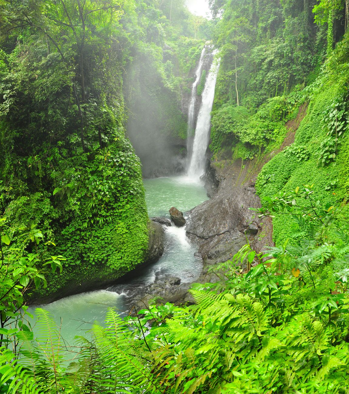 AlingAling Waterfall, Bali 1 of 7 Waterfalls Pucuk