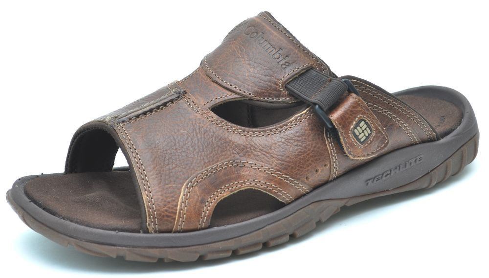 719876b40b62be Columbia SLATE SLIDE III Brown Sandals Men s - NEW - BM4202  Columbia   Slides