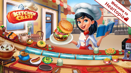 Kitchen Craze Cooking Games for Free & Food Games 2.0.4