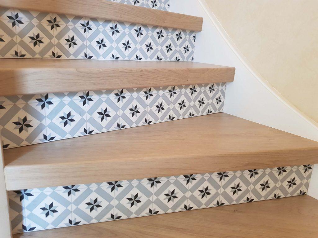 Escalier En Parquet Escalier Beton Cire Renover Escalier Escalier