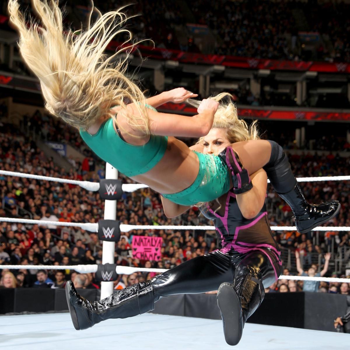 Natalya | Female wrestlers, Fashion, Peplum dress