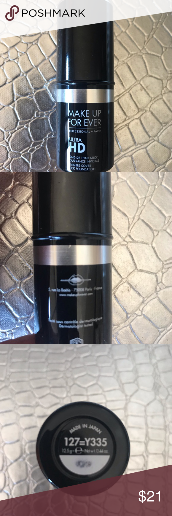 Makeup Forever ultra hd foundation Invisible coverage