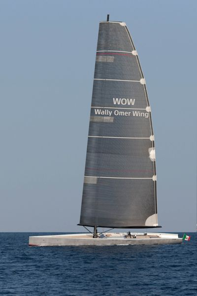 Wow The Wing Sail Technology For Large Cruising Yachts By Wally And Omer Wing Sail Superyacht Times Sailing Yacht Design Sailing Yacht