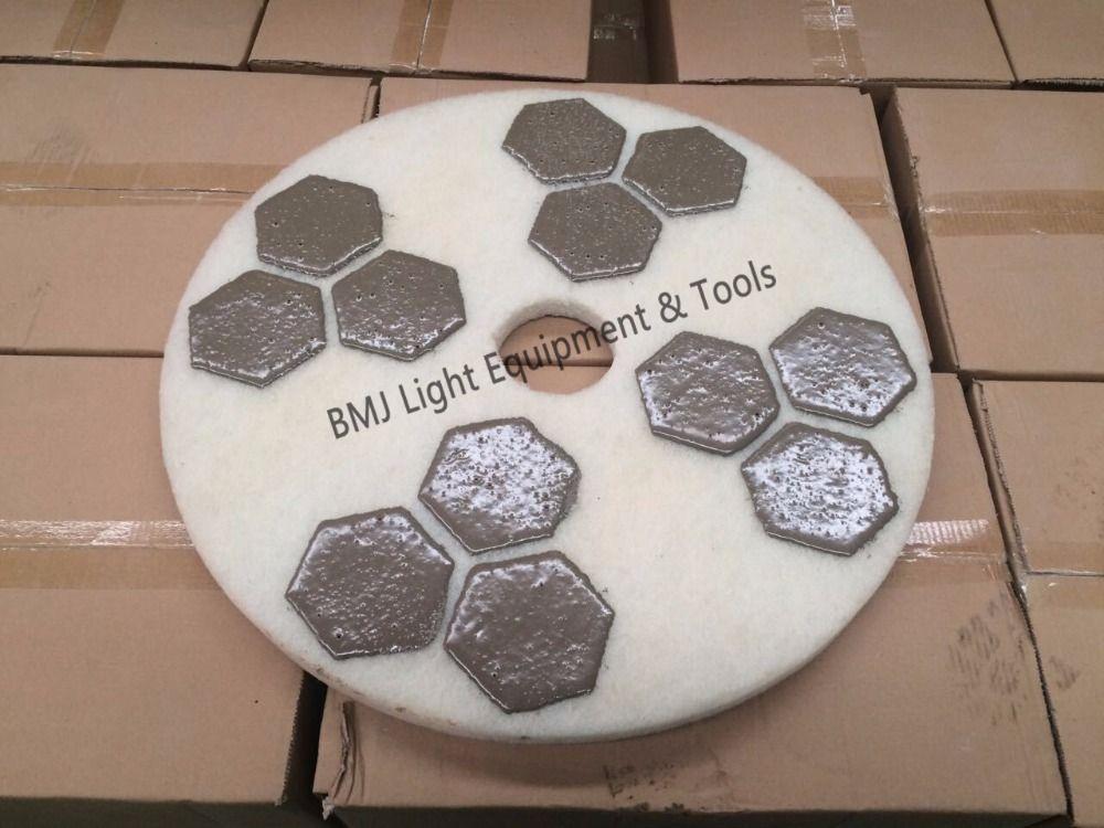 17 Inch Marble Granite Grinding Polishing Buffing Burnishing Pads Marble Granite Granite Pad