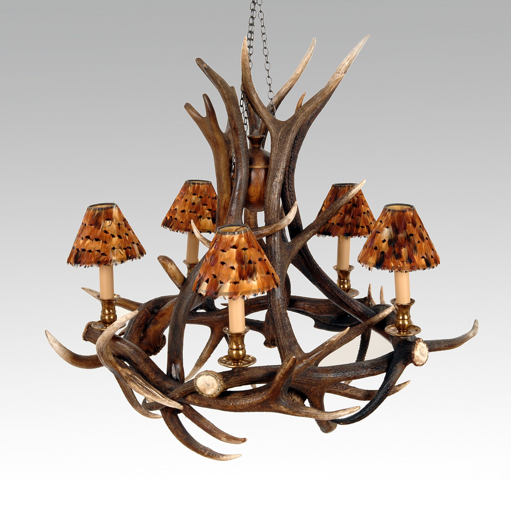 Pin by jess on for the home pinterest red deer antlers and new red deer antler chandelier httppetersilk aloadofball Images