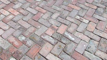 Recycled Brick Driveway Paving