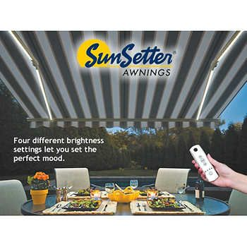 SunSetter Dimming LED Awning Lights | Awning lights ...