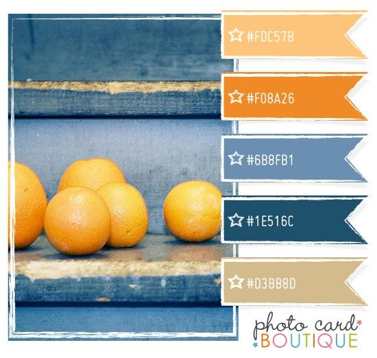 This Is My Kitchen Color Scheme Really Love The Color: I Love Blue And Orange Together. Could Be From My