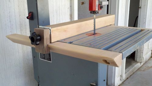 Simple Band Saw Fence - by arco21 @ LumberJocks.com ~ woodworking community
