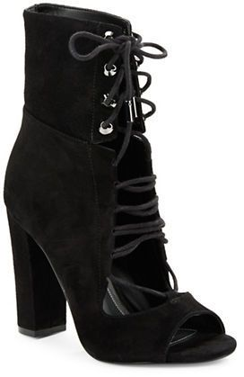 d4654d0ad9 Kendall + Kylie Ella Lace-Up Booties | Booties & Boots ♥ | Black ...