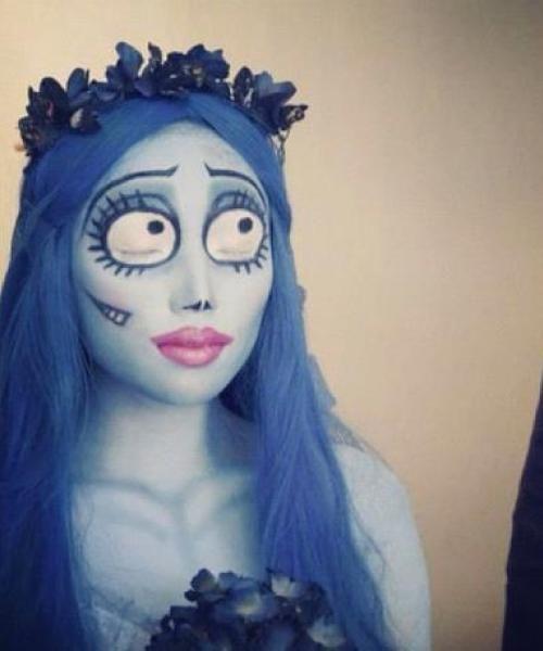 Corpse Bride, love the eye makeup