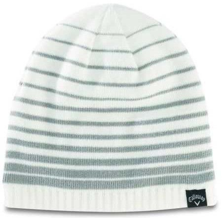 52980c3aae2 Knitted acrylic yarn and fleece lining on this mens winter chill golf  beanie hat by Callaway