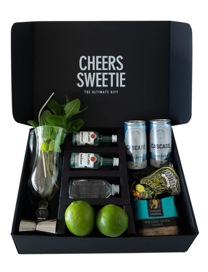 Mojito Kit Gift Box Cheers Sweetie Cocktail Kit Gift Mojito Kit Cocktail Kits