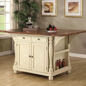 Small Kitchen Island With Seating  Kitchen  Pinterest  Kitchens Extraordinary Kitchen Cart With Drop Leaf Design Ideas