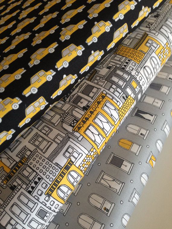 Uptown quilt or craft fabric bundle by Brejer for Robert Kaufman- 1/2 Yard Bundle, 3 total on Etsy, $15.00