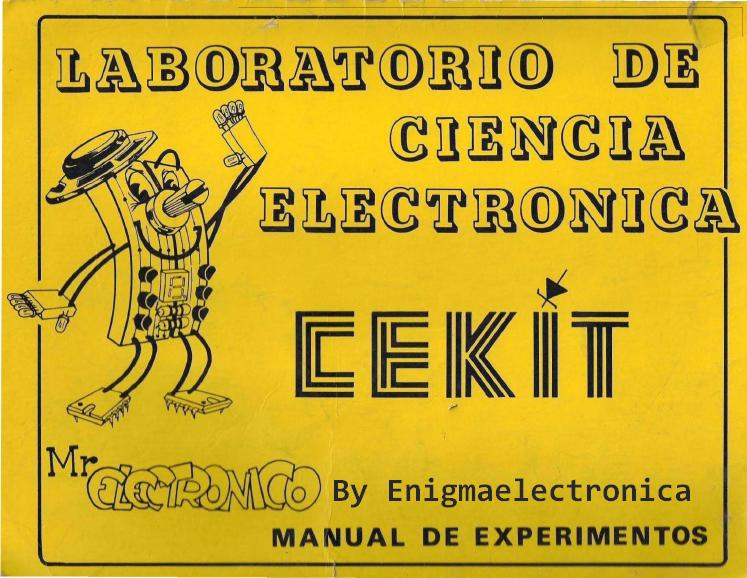 Cekit Mr Electronico Pdf Electrónica Componentes Electronicos Proyectos Electronicos