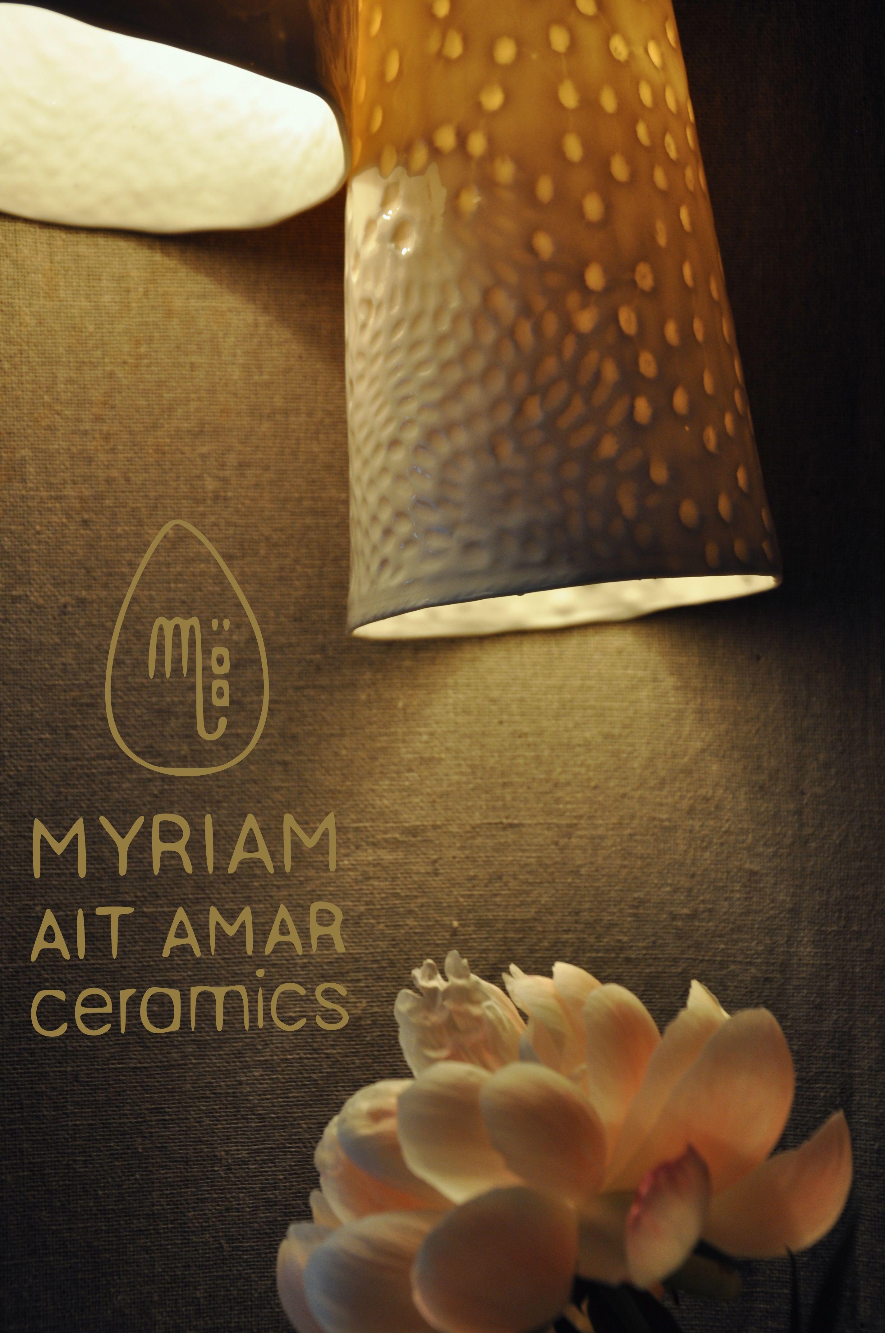 Myriam Ait Amar Ceramics Photo : Marie Roura   Vaisselle