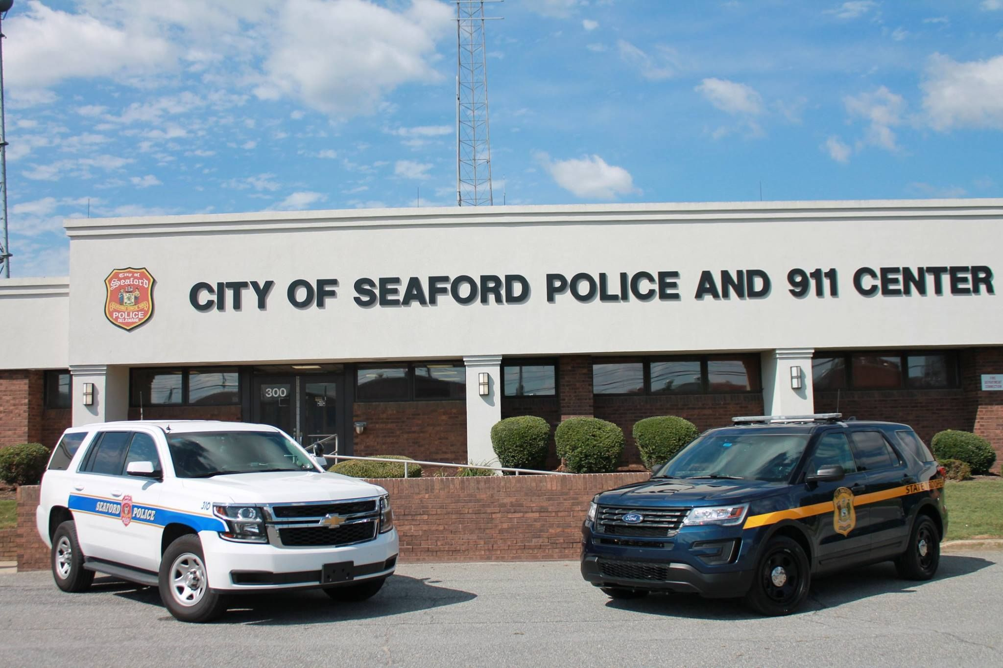 Delaware city of seaford police and delaware state police