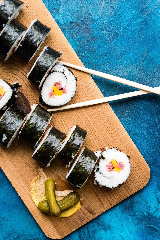 Inside Out Wisconsin Maki Beefshi Roll Recipe Girl Carnivore Recipe Rolls Recipe Maki Full Meal Recipes