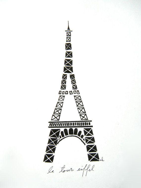 Eiffel Tower Original Print
