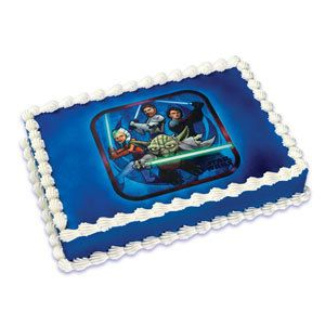Star Wars Clone Wars Edible Image Cake Topper By Bigcatcrafts 750