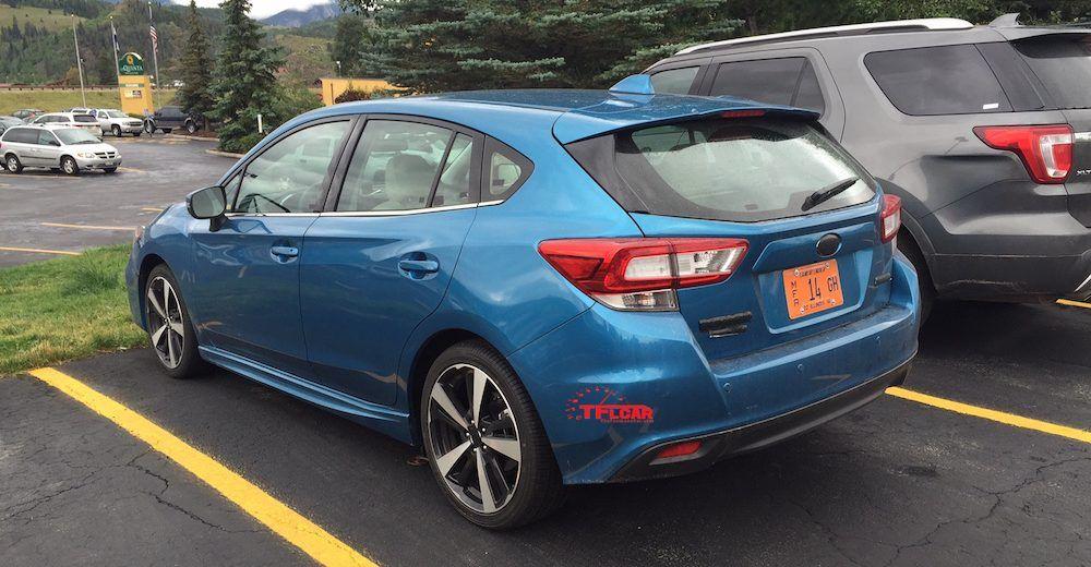 Spied in the Wild! 2017 Subaru Impreza Hatchback (With