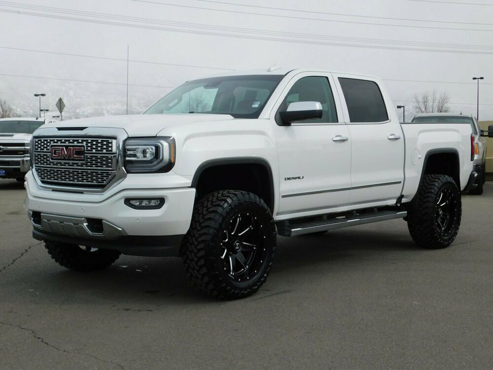 For Sale 2018 Gmc Sierra 1500 Denali Lifted Gmc Crew Cab Denali 4x4 6 2 V8 Custom New Wheels Tires Leather Nav Roof Gmc Sierra 1500 Gmc Gmc Sierra