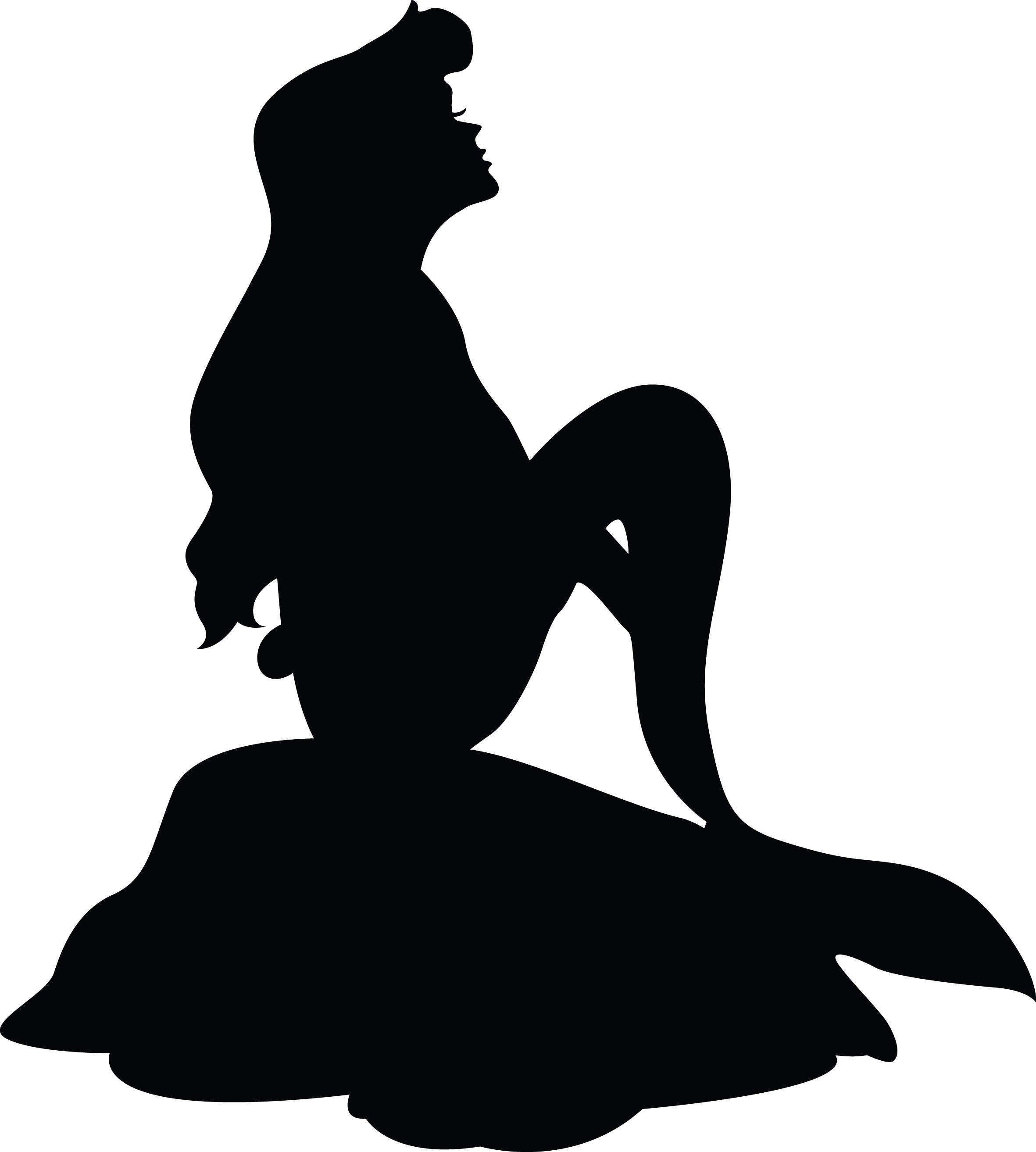 Ariel The Little Mermaid Disney High Definition Silhouettes Little Mermaid Silhouette Disney Silhouette Painting Disney Princess Silhouette Wanted to try something different :3 umm.i still dunno what to write in this box so ill just umm do what other people do. little mermaid silhouette disney