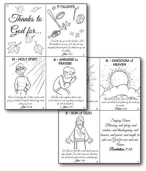 Christian Thanksgiving Crafts for Kids \u2014 Teach Sunday School