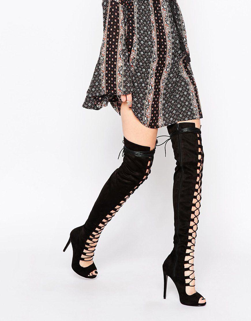 Top 25 ideas about skor on Pinterest | Heeled sandals, Knee high ...