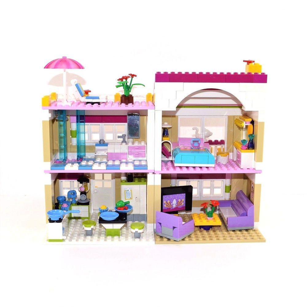 Lego Friends Olivias House Set Set 3315 Complete With Instructions