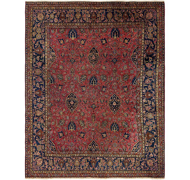 Red 8 9 X 11 Sarough Persian Rug Rugs Com Rugs Persian Rug Vintage Persian Rug