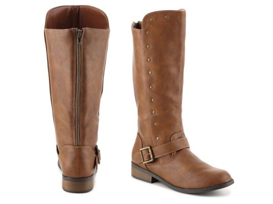 a3b65f8dadf Women's Steve Madden Shawny Girls Youth Riding Boot - Tan | Products ...