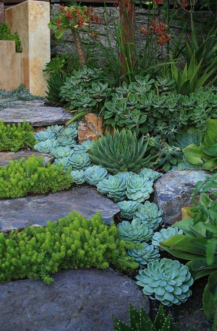 Steingarten anlegen und eine naturgemäße und attraktive Gartengestaltung genießen #vorgartenanlegen