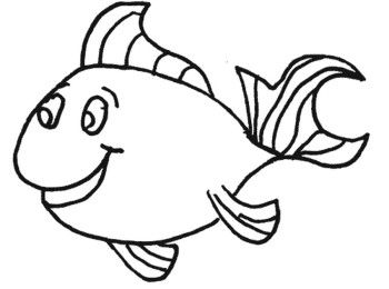 Fish Coloring Sheets Kids Coloring Pages Pinterest Craft