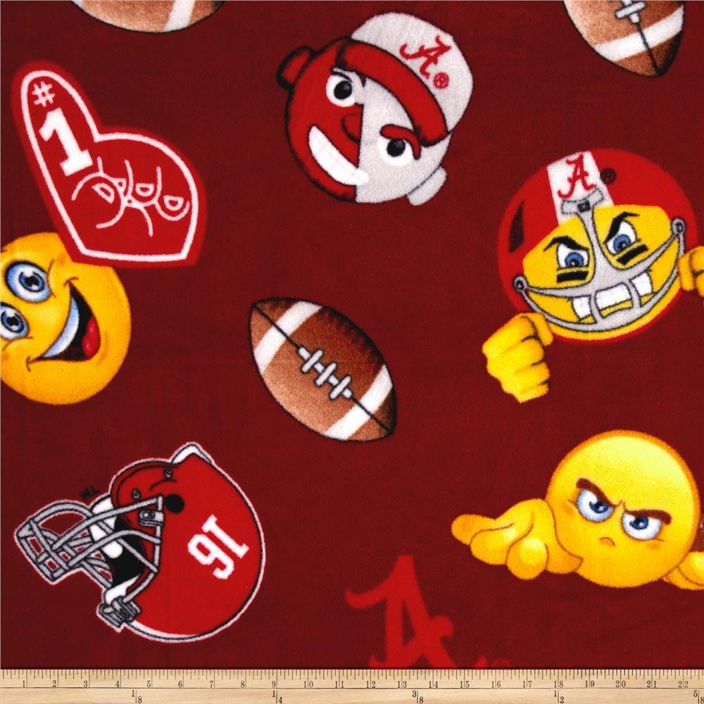 Ncaa Alabama Crimson Tide Fleece Emojis Crimson Animated Emojis