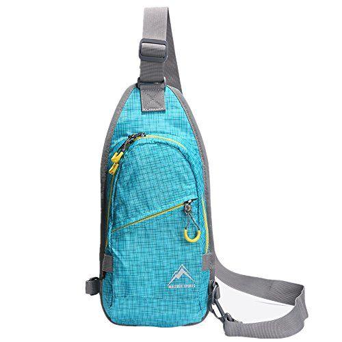 Water Resistant Outdoor Shoulder Backpack Chest Pack Bags for MALEDEN Sling Bag