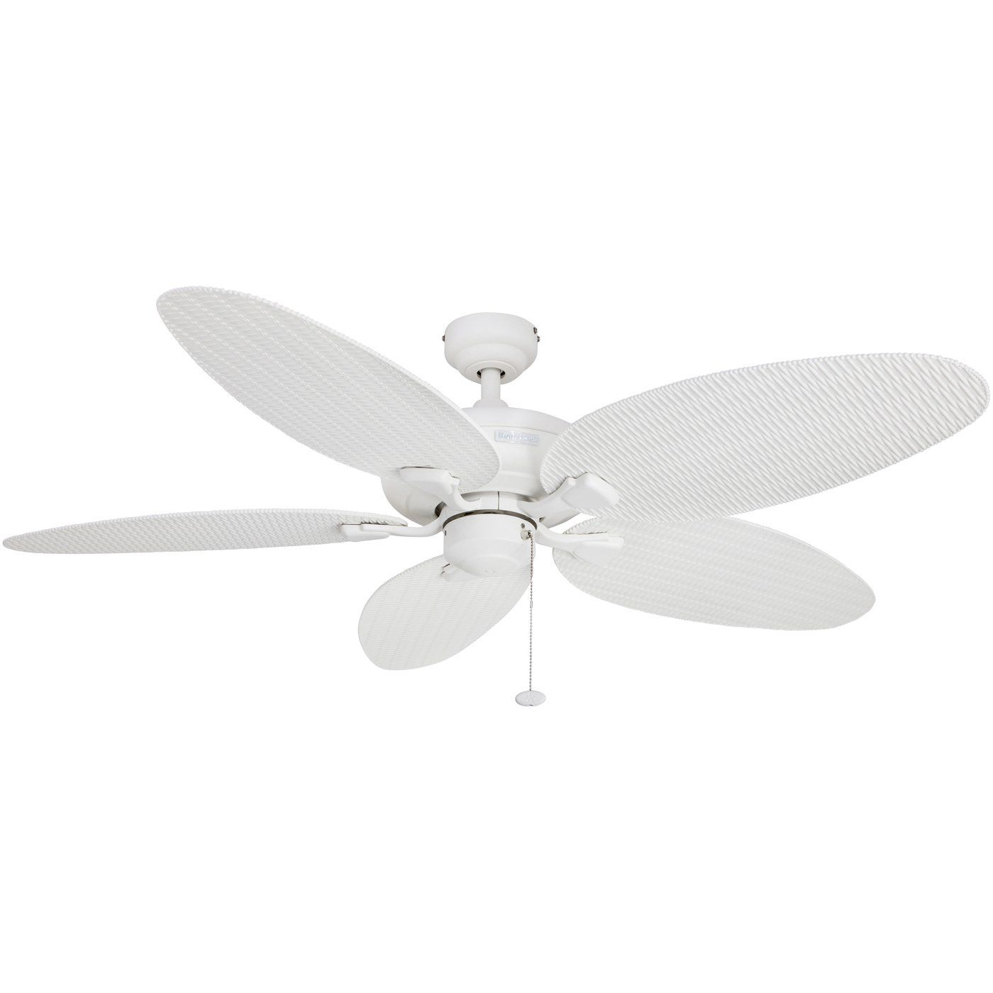 honeywell duvall 52inch tropical ceiling fan five wet rated wicker blades indoor