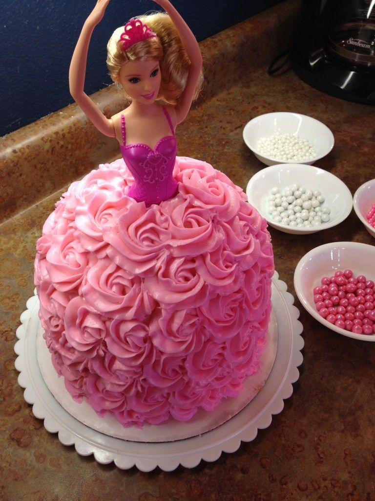 http://epicsweet.com/barbie-cake-how-to/   Barbie cake ...