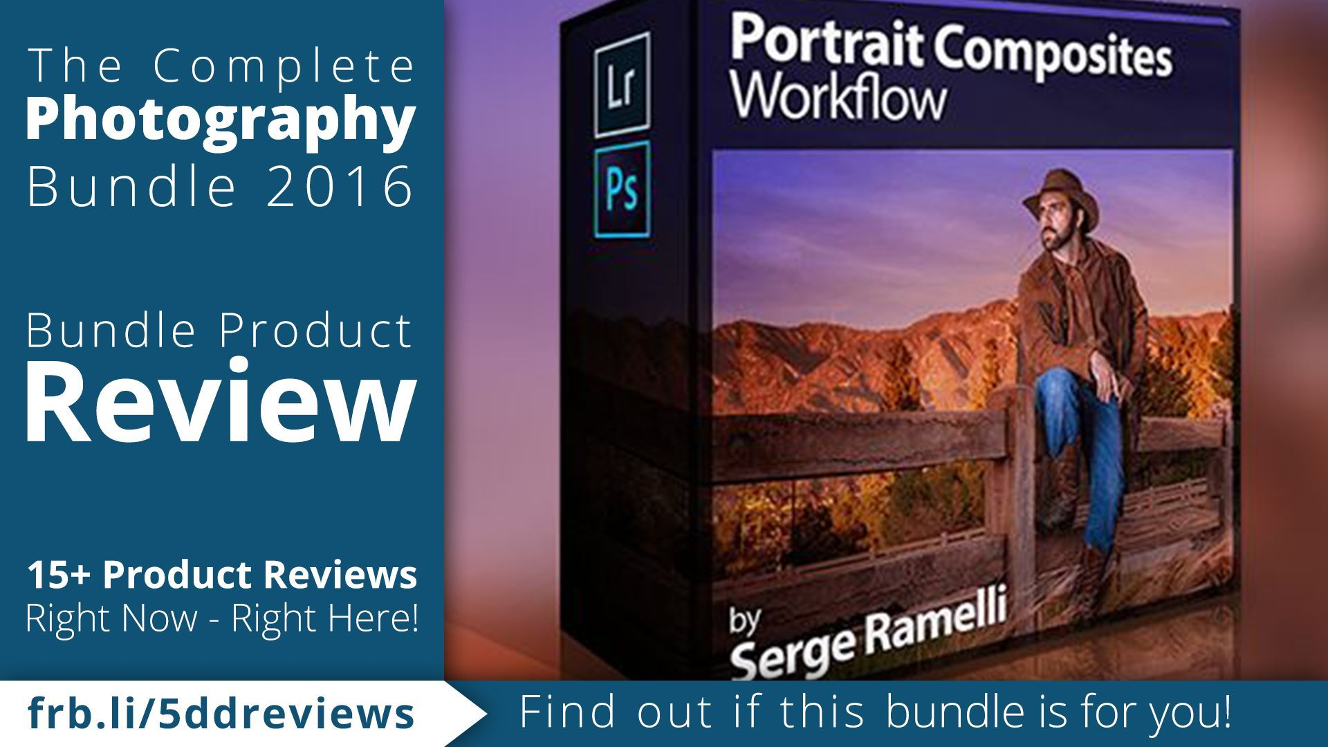 Serge Ramelli teaches you how to shoot, composite and post-process stunning environmental portraits, even if you're on a tight budget.