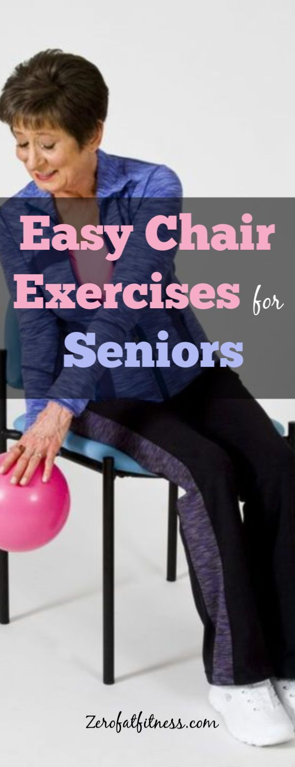 Simple Chair Exercises for Seniors- 10 Seated Chair Workouts at Home and Office  #chairworkouts #fit...