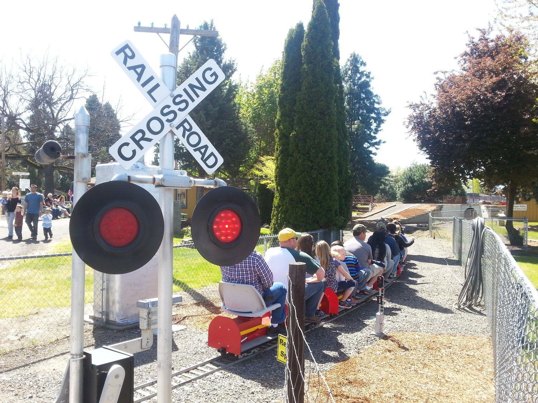 Medford railroad park free fun for the whole family