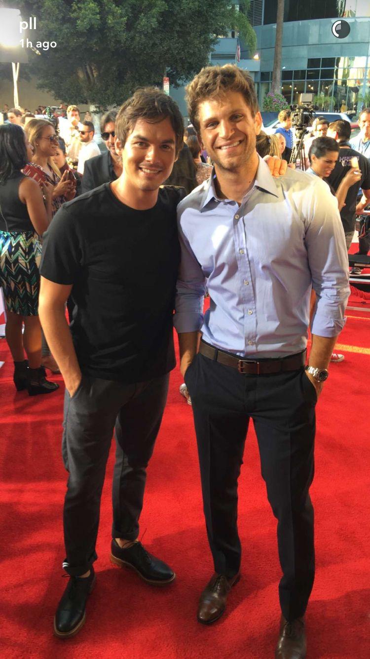 Tyler Blackburn and Keegan Allen