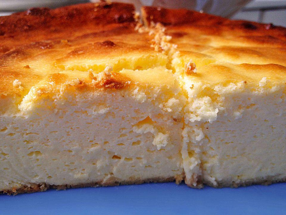 Supercremiger Käsekuchen ohne Boden von Simone32